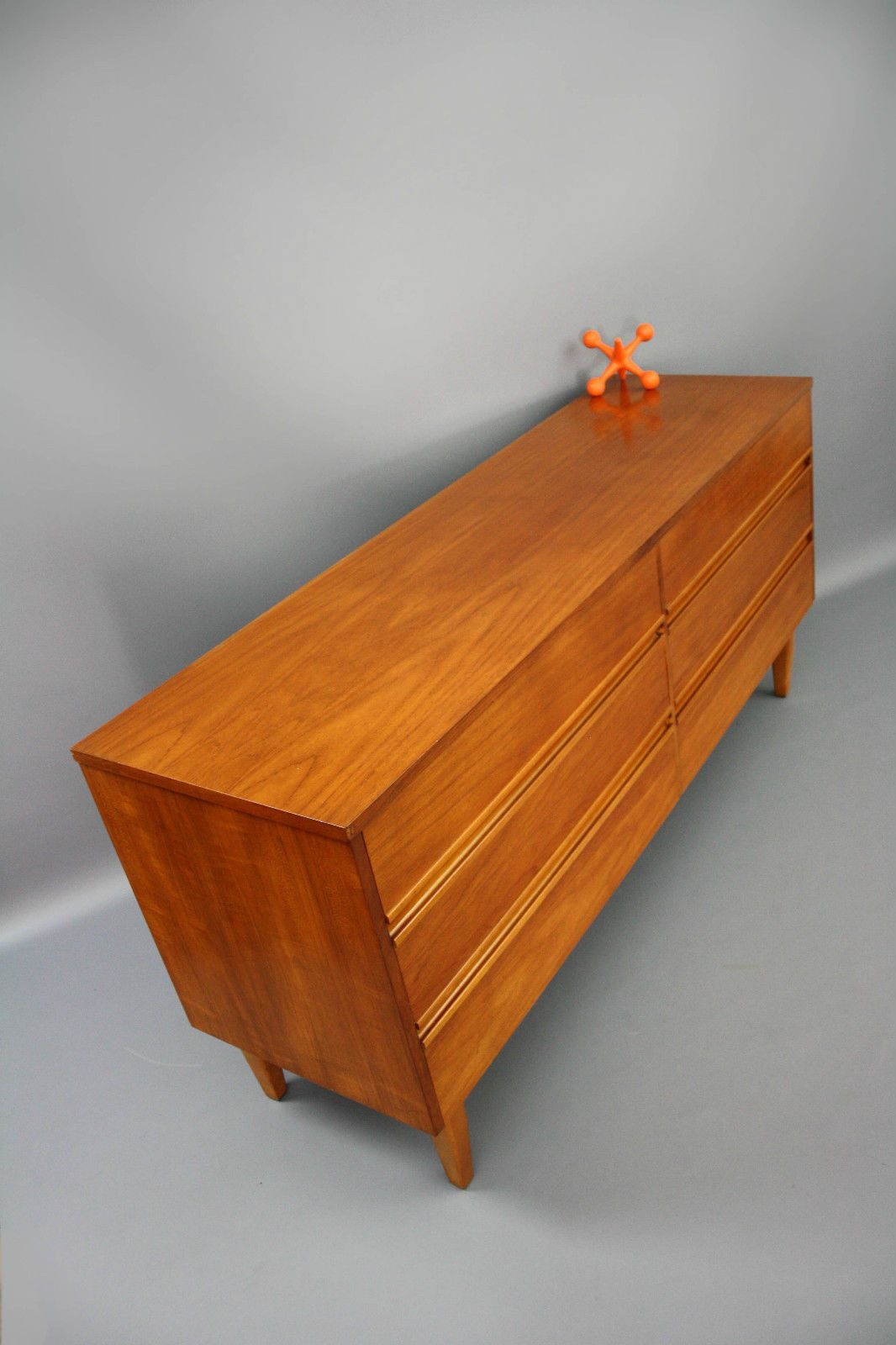 Mid century lowline teak sideboard drawers retro vintage parker danish hayson er in narre warren 360 modern furniture vic ebay