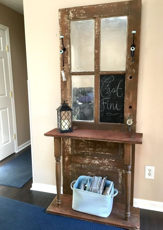 Best Of Repurposed Door Hall Tree