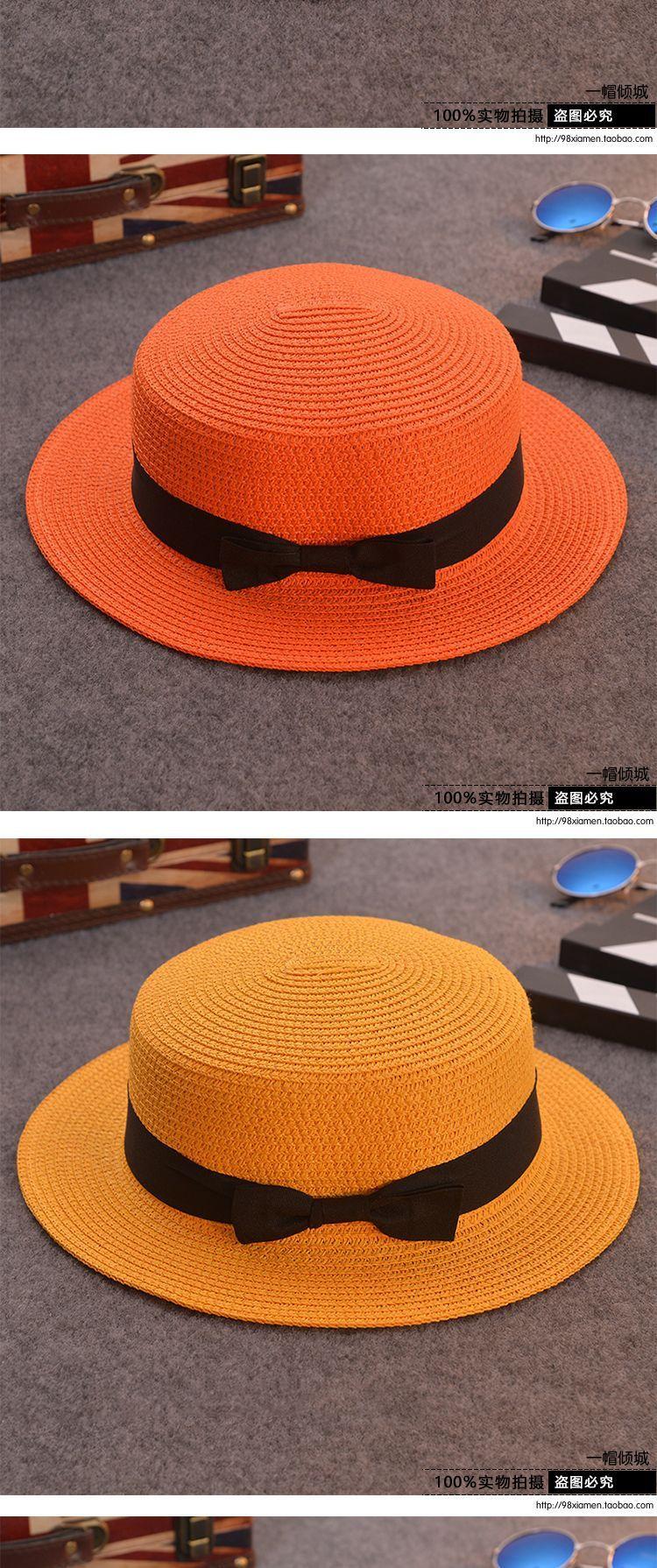 1bfd62c1dd87a Home 2019 Fashion Parent-child sun hat Cute children sun hats bow ...