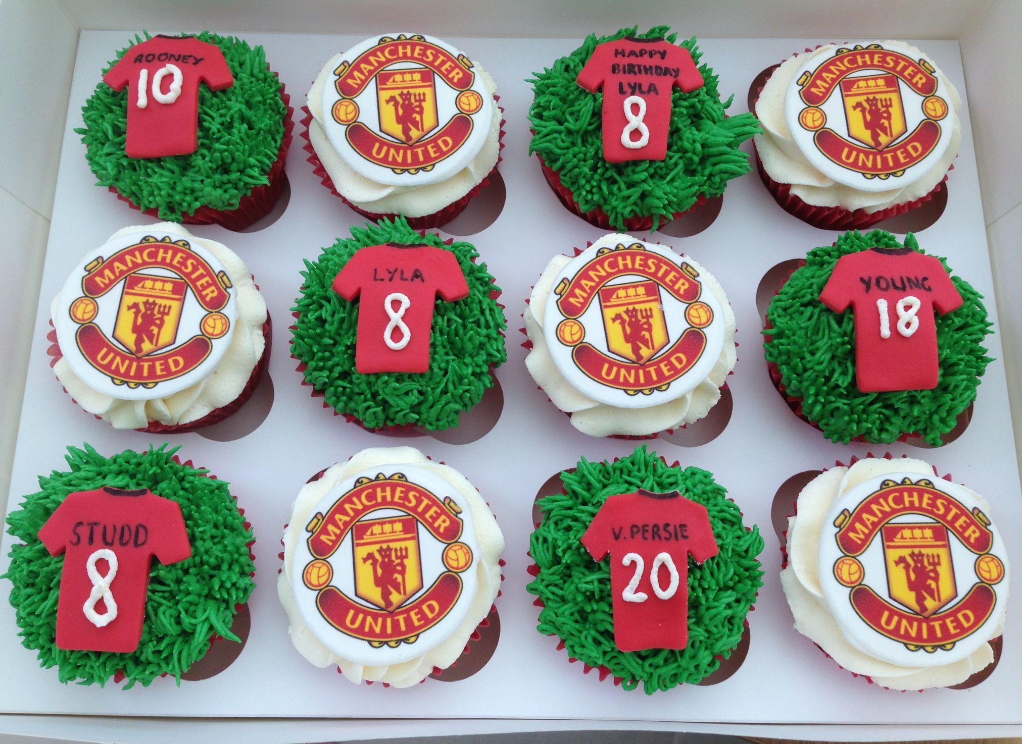 Man United Cakes Cake Design Cupcakes For Men Cake Pop Stands