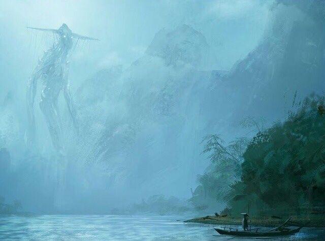 Mist Walker By Mark Molnar In 2019 Fantasy Landscape