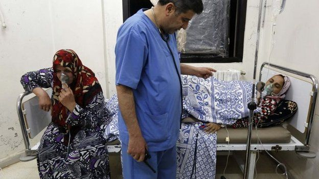 Syria conflict: Toxic chemicals 'used systematically' in attacks