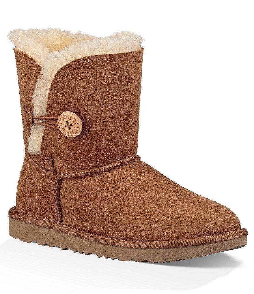 UGG® Girls' Bailey Button II Boots