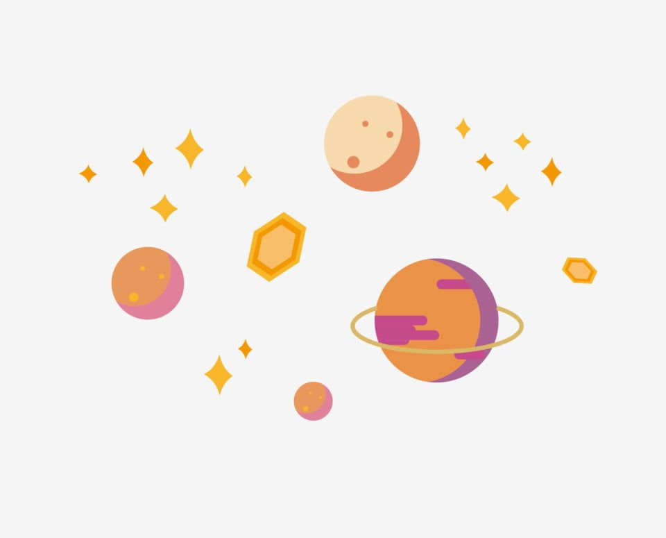 Cute Minimalist Planet Simple And Cool Colorful Planet Minimalist Planet Surrounding Stars Solar System Clipart Glowing Stars Cute Minimalist Planet Png And Cool Colorful Backgrounds Hologram Colors Glow Stars