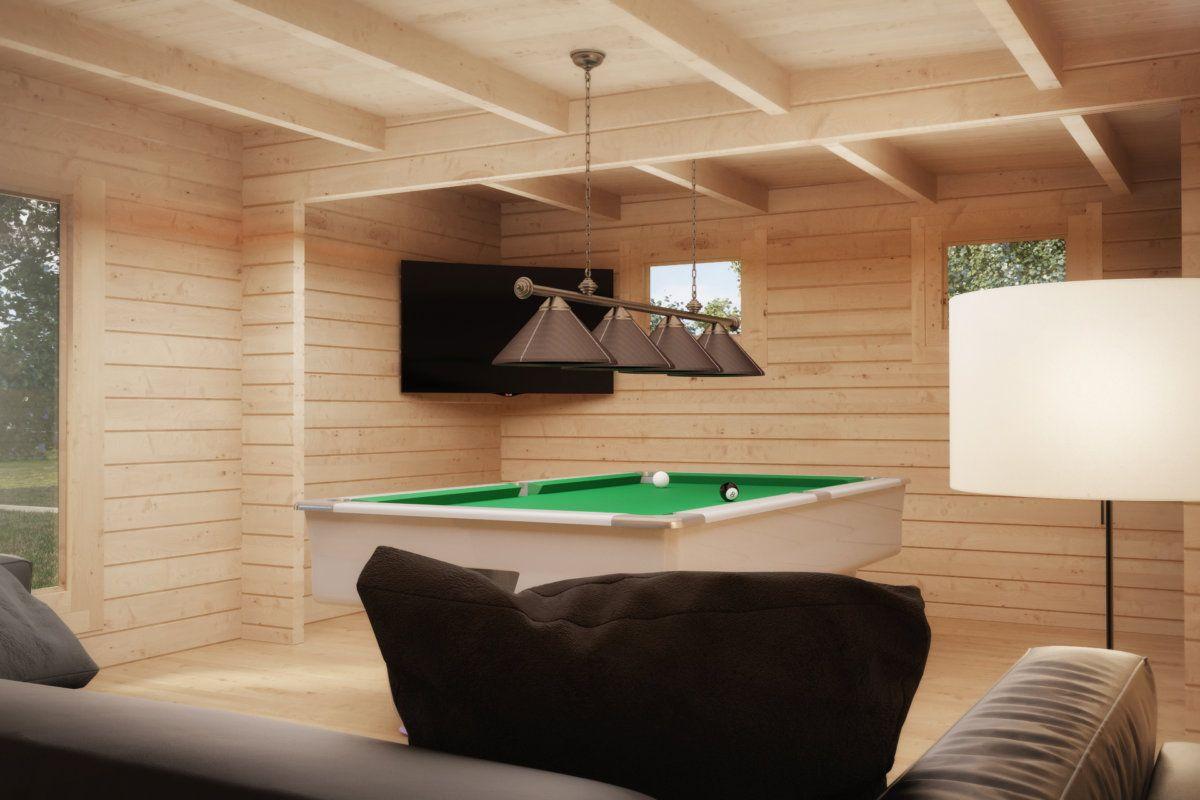 hansa lounge xxl billard edition 24m2 50mm 5x8 moderne gartenh user pinterest. Black Bedroom Furniture Sets. Home Design Ideas