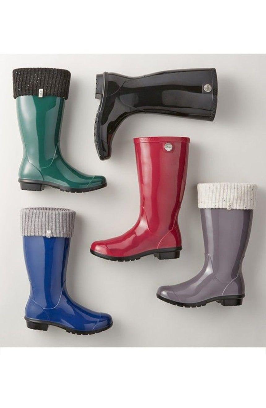 a58fb19ced1 UGG® Sienna Rain Boot (Women) | Nordstrom | my fashion | Cowboy rain ...
