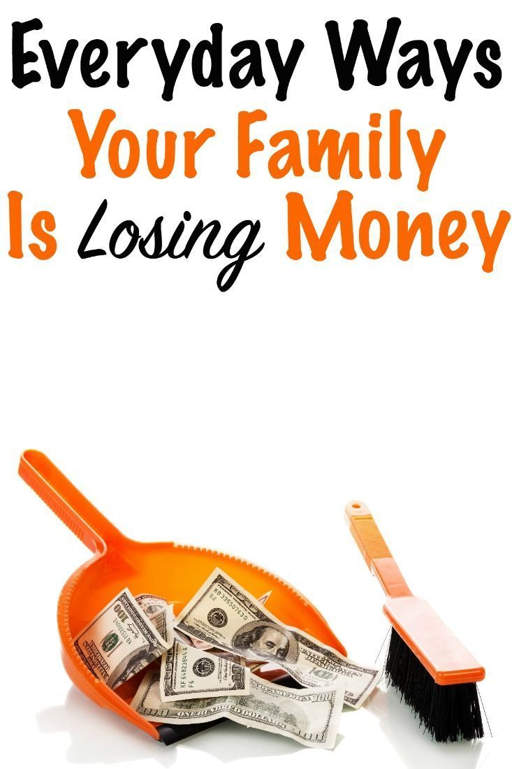 Everyday ways you are losing money