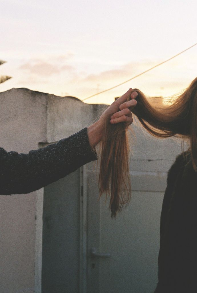 """...Moments he'll be behind you and whispers things in your ear that only you can hear. Then he""""ll gently cling to your hair and as he moves backward smoothly he says, """"I'll have to go and I'll leave you be for now..."""". Finally, the feeling of his grasp on your hair fades away as his fingers release..."""