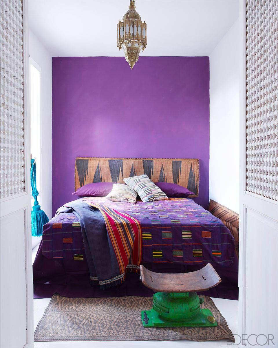Elegant Colorful Bedroom Decor