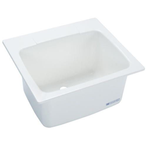 Laundry Room Utility Sink 22 Quot X25 Quot White At Menards
