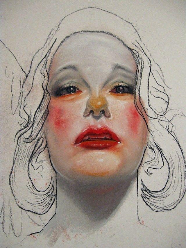 Stunning Pastel Portraits by Barnaby Whitfield – Fubiz Media