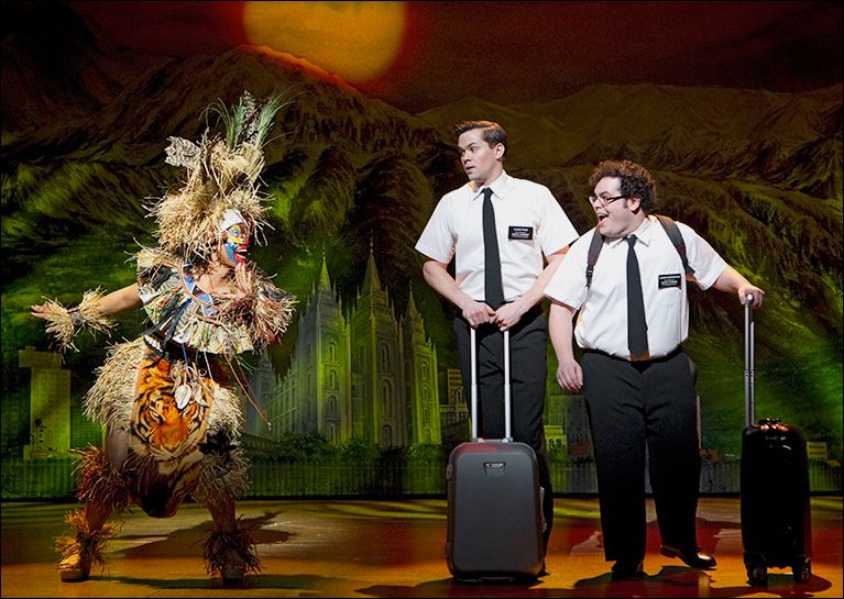 Book of Mormon Broadway Show New York City