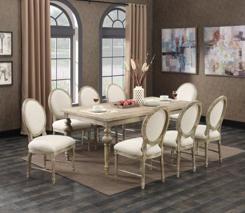 Interlude D560 Dining Collection From Emerald Home Furnishings