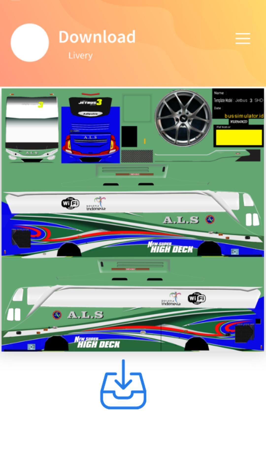 Menakjubkan 15 Stiker Bus Simulator Keren Shd Gudang Gambar Hd New Bus Bus Simulator Bus Games