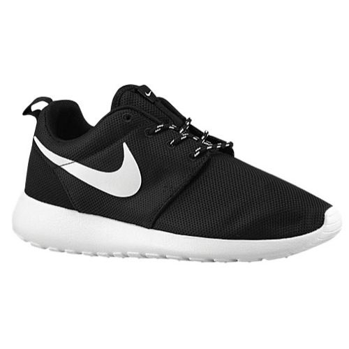 d9e751cf2bed8 Details about 511882-010 Women s Nike ROSHE RUN BLACK-WHITE-VOLT