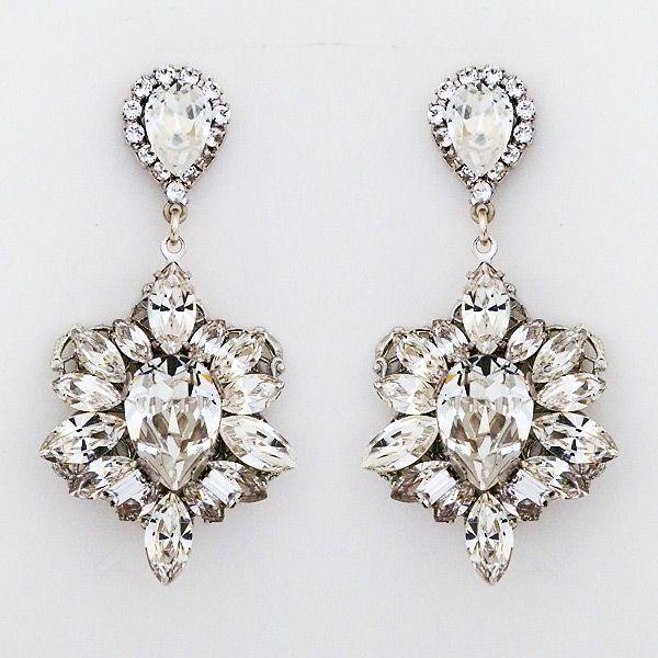 Red Carpet Chandelier Earrings