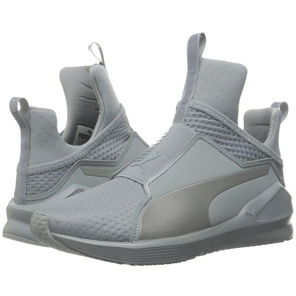 PUMA Fierce Quilted (Quarry/Puma Silver) Women's Shoes (€91) ❤