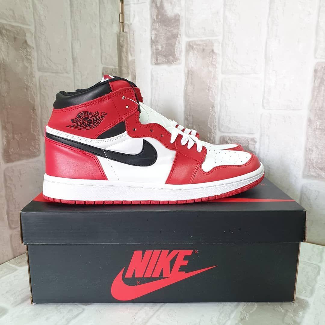 Get Your Free Nba Jersey Gift Sepatu Sneakers Nike Jordan 1 Retro