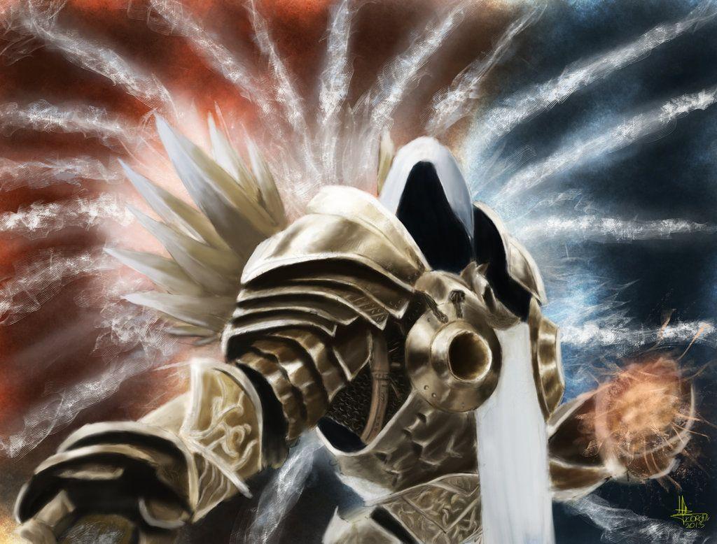 Archangel Tyrael By KorcanKanoglu @ DeviantART. Diablo