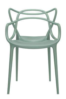 Fauteuil Empilable Masters Kartell Vert Made In Design Chaise Masters Chaise Verte Mobilier Design