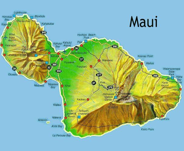 Maui HI Places I have been