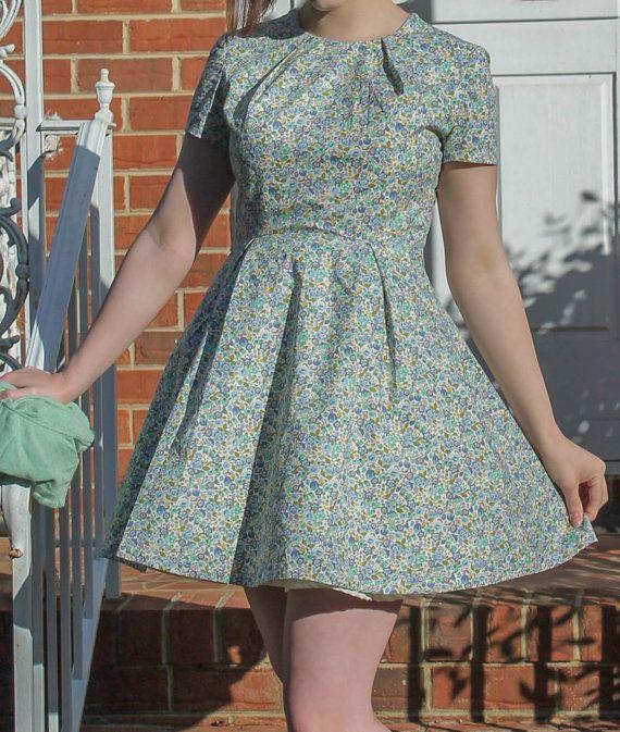 Un vestido retro...