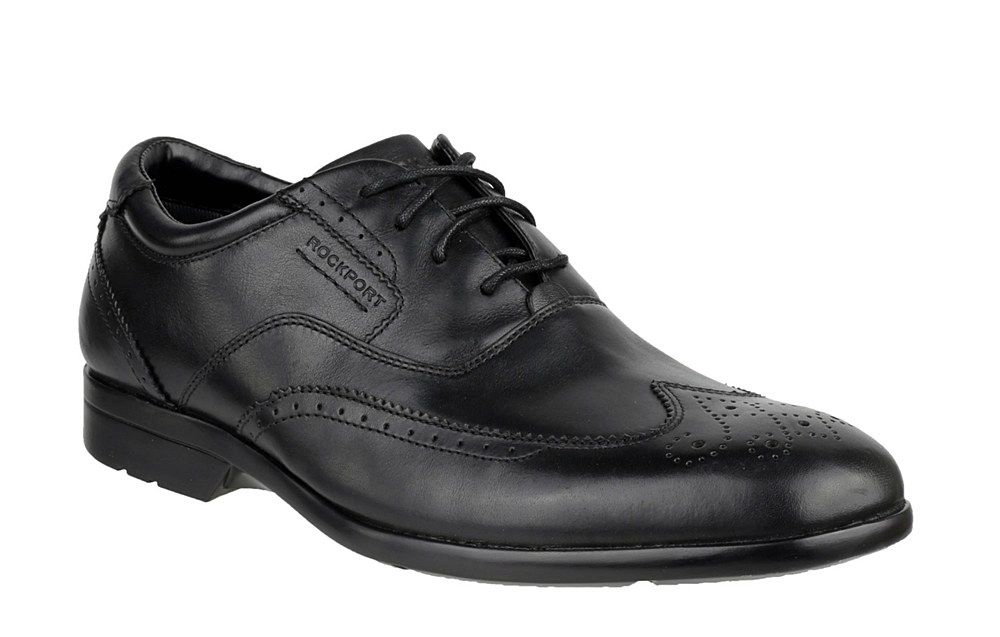 Rockport K62742 Mens Business Lite Wingtip Lace Up Formal Shoe - Robin Elt Shoes  http://www.robineltshoes.co.uk/store/search/brand/Rockport-Mens/ #Mens #Shoes #Formal #Smart