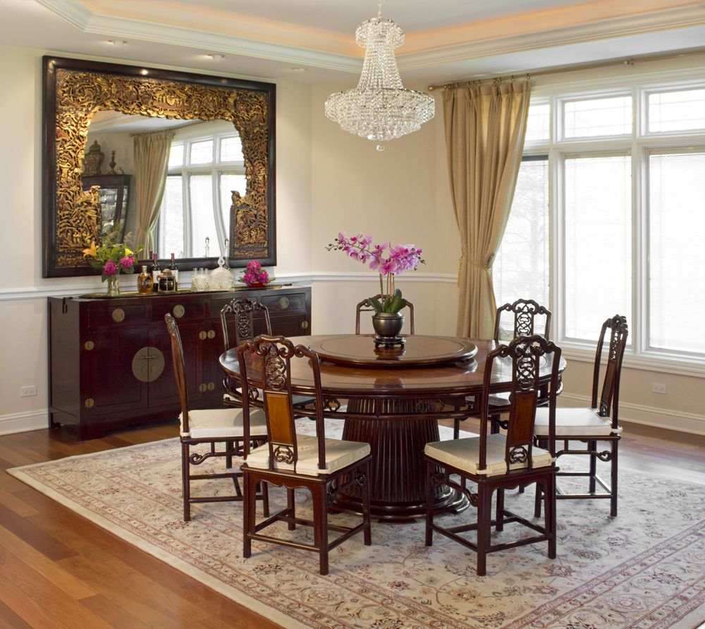 Classic Chinese Style Dining Room Furniture Asian