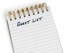 Wedding Guest Lists Lisa Sammons Events Real Wedding Planner