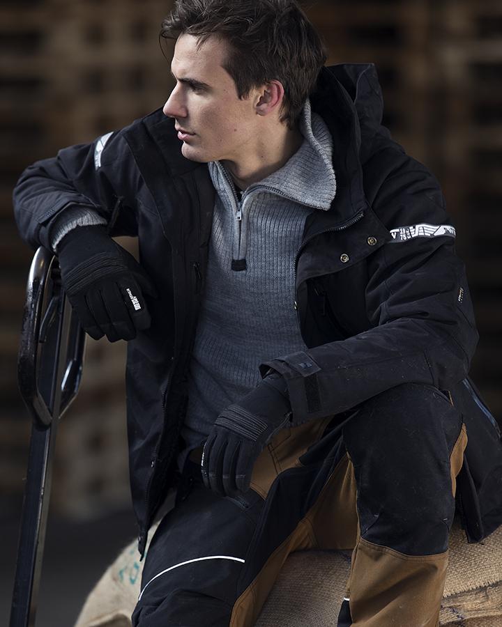 Snickers AllroundWork 1102 Waterproof 37.5® Insulated Jacket BLACK