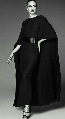 Valentino Cape Dress