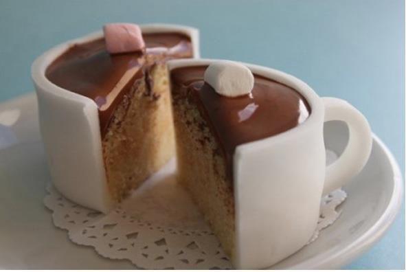 Hot chocolate ~~>CUPCAKES..............  ......   http://diaryofaladybird.blogspot.com/2010/07/fondant-fun-hot-chocolate-cupcakes.html