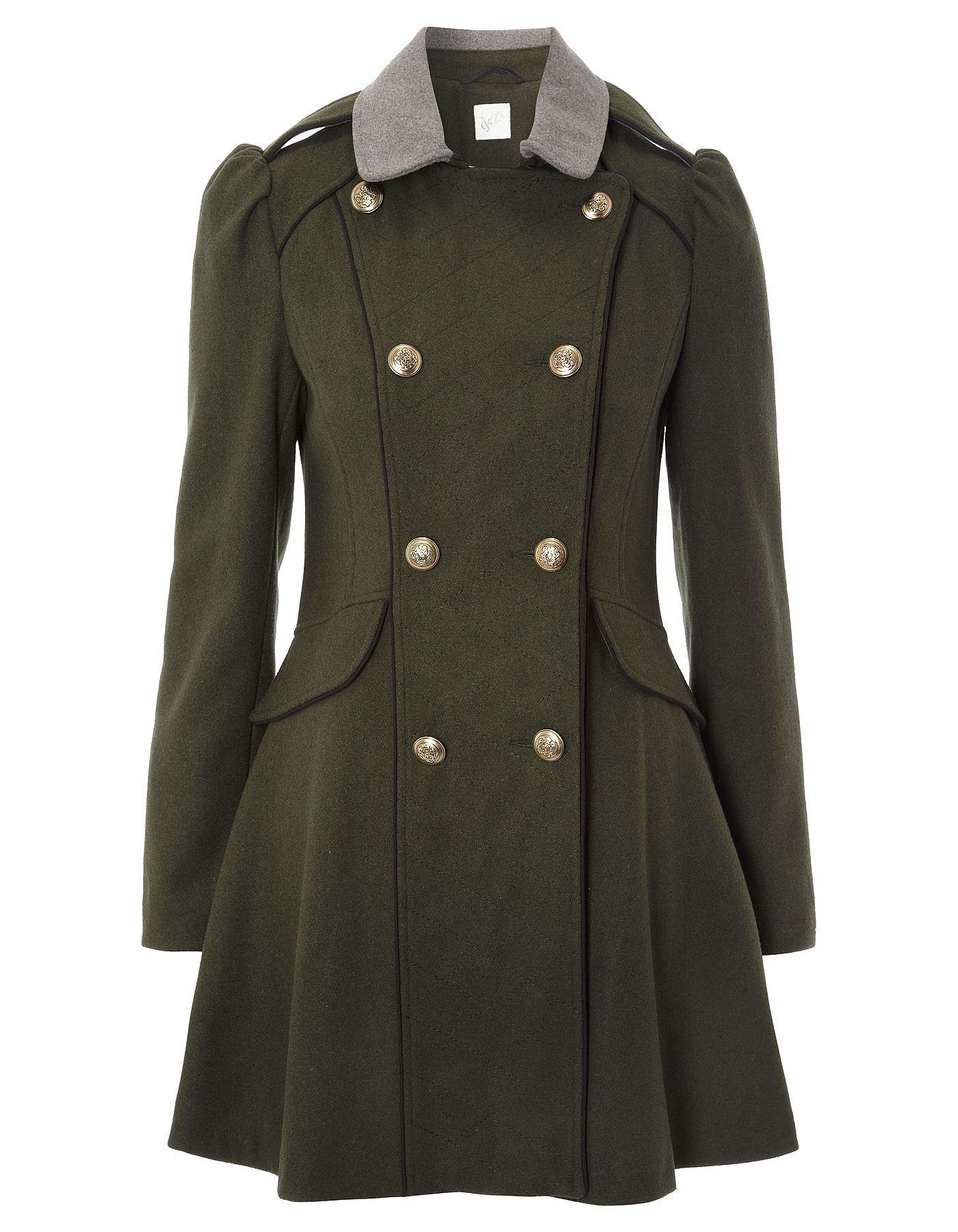 G21 Military Coat | Women | George at ASDA | My Style | Pinterest ...