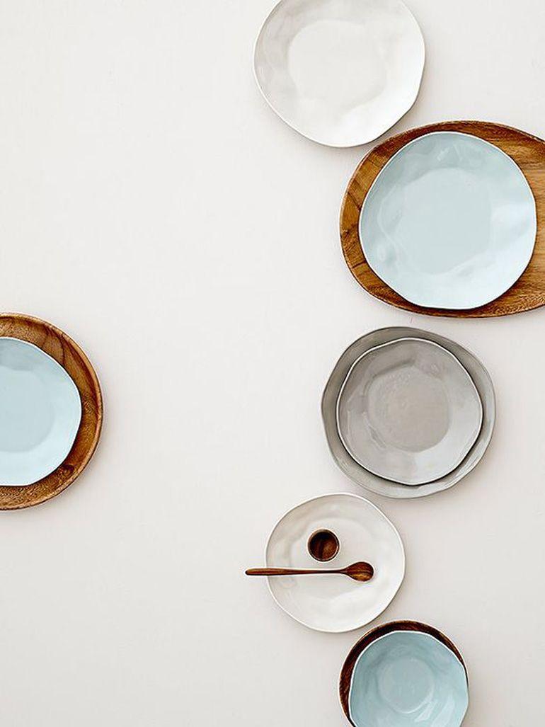 Lo stile è servito: piatti color pastello | Ceramic plates and ...