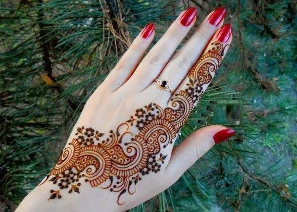 Modern Arabic Mehndi Designs 2014 : Simple arabic mehndi designs & step by http