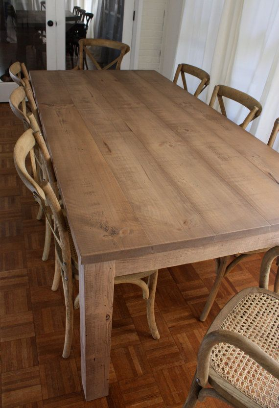 19+ Type of wood for farmhouse table type