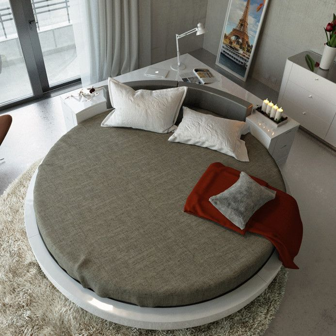 Minimalist Bedroomdesign Ideas: 15 Most Amazing Modern Round Beds Ideas You'll Ever See