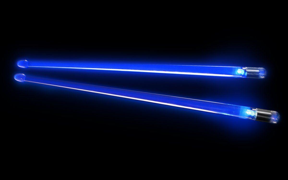 ION Firestix Light-Up Drumsticks Blue