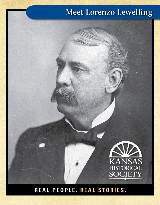 Lorenzo Lewelling (1846-1900), elected in 1892 as the first Populist Party governor of Kansas