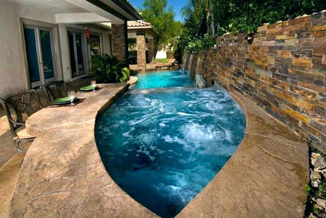 30 Fascinating Small Inground Pool Ideas For Your Backyard Dexorate Inground Pool Cost Small Inground Pool Cost Pool Cost