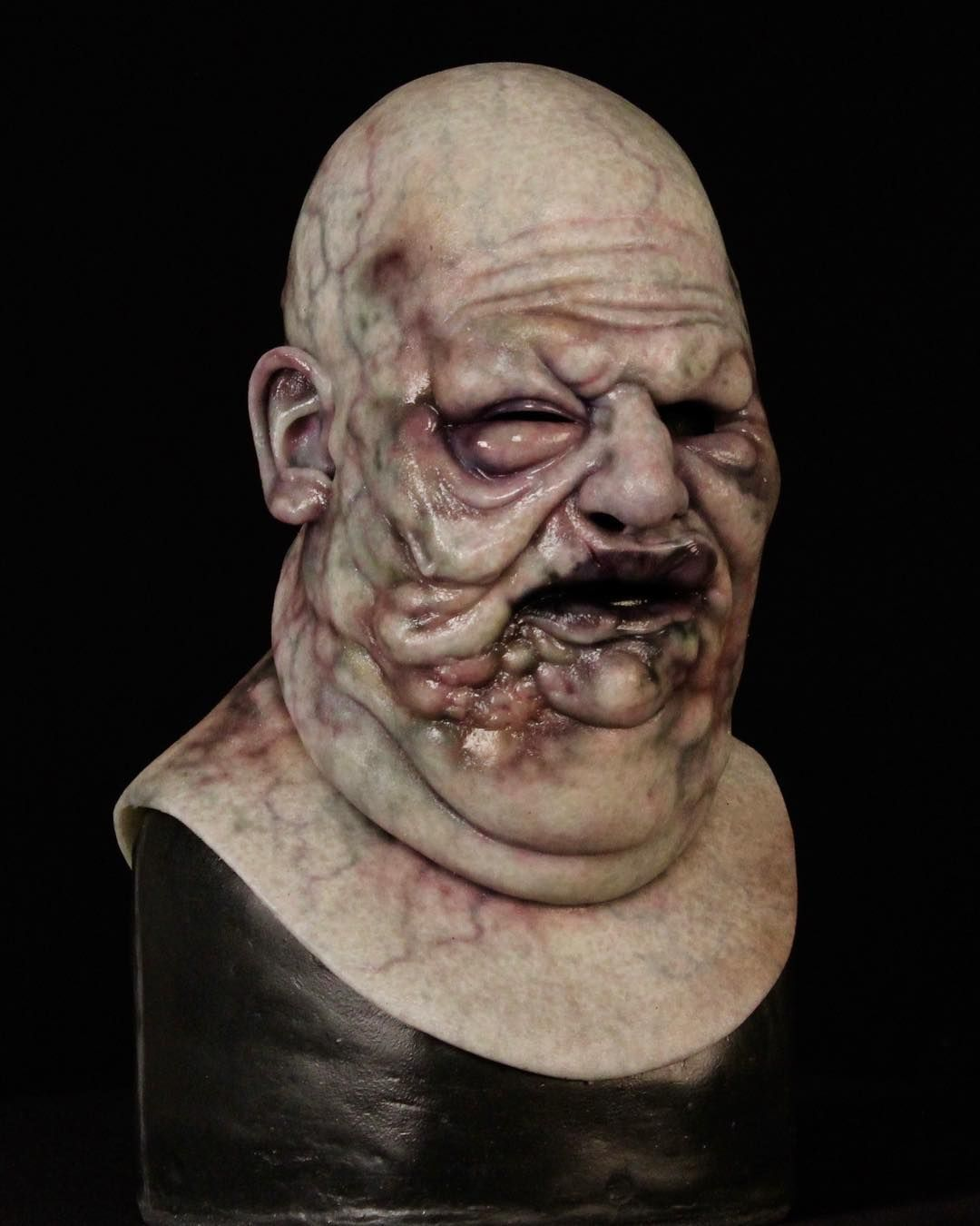 L Image Contient Peut Etre 1 Personne Immortal Masks Horror Art Sculpture Art The world's leading silicone mask and silicone creature company from san dimas, ca. immortal masks horror art sculpture art