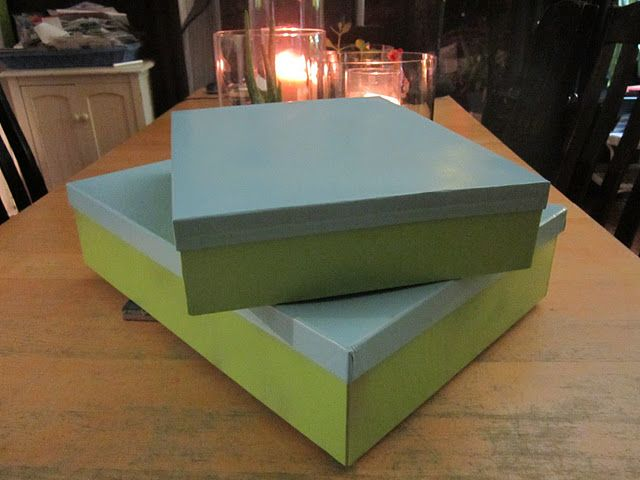 Spray Paint Cardboard Bo Home Decor Box Coffee Table