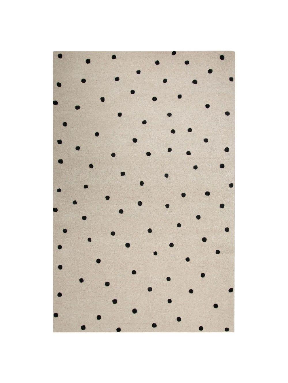 Kate Spade New York Gramercy Scatter Dot Rug White Polka Dot Rug Handmade Area Rugs Rugs