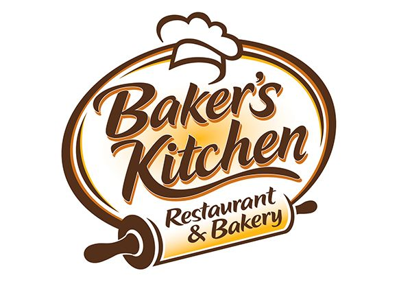Logo for baker 39 s kitchen by trade ideas brand logos for Kitchen decoration logo