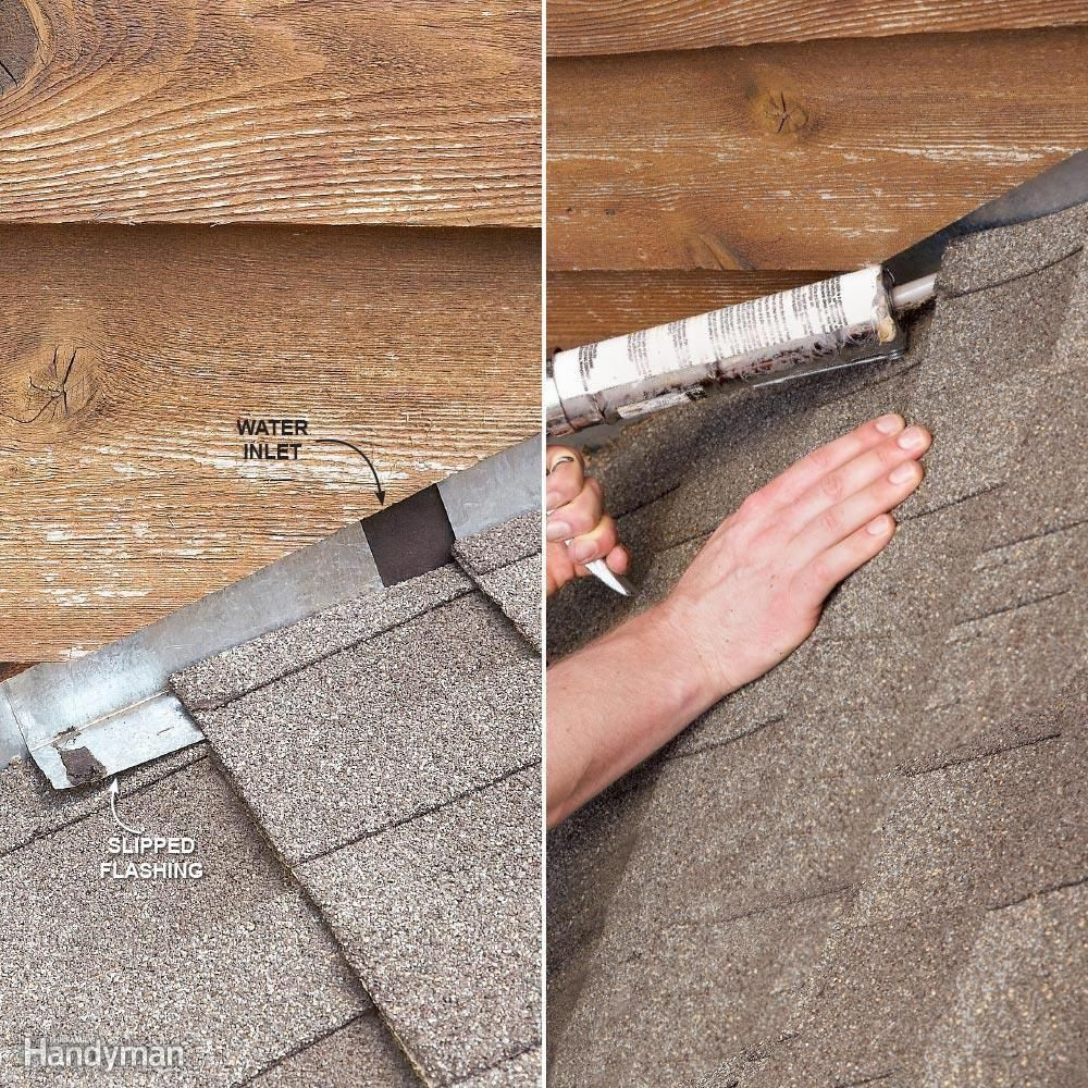 12 Roof Repair Tips Find And Fix A Leaking Roof Roof Repair Cleaning Hacks Leaking Roof