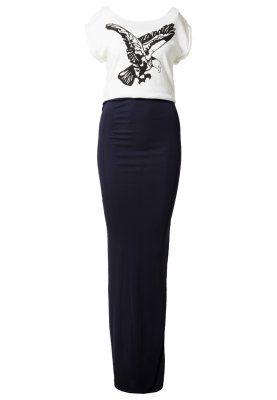 DIVA - Fotsid kjole - hvit