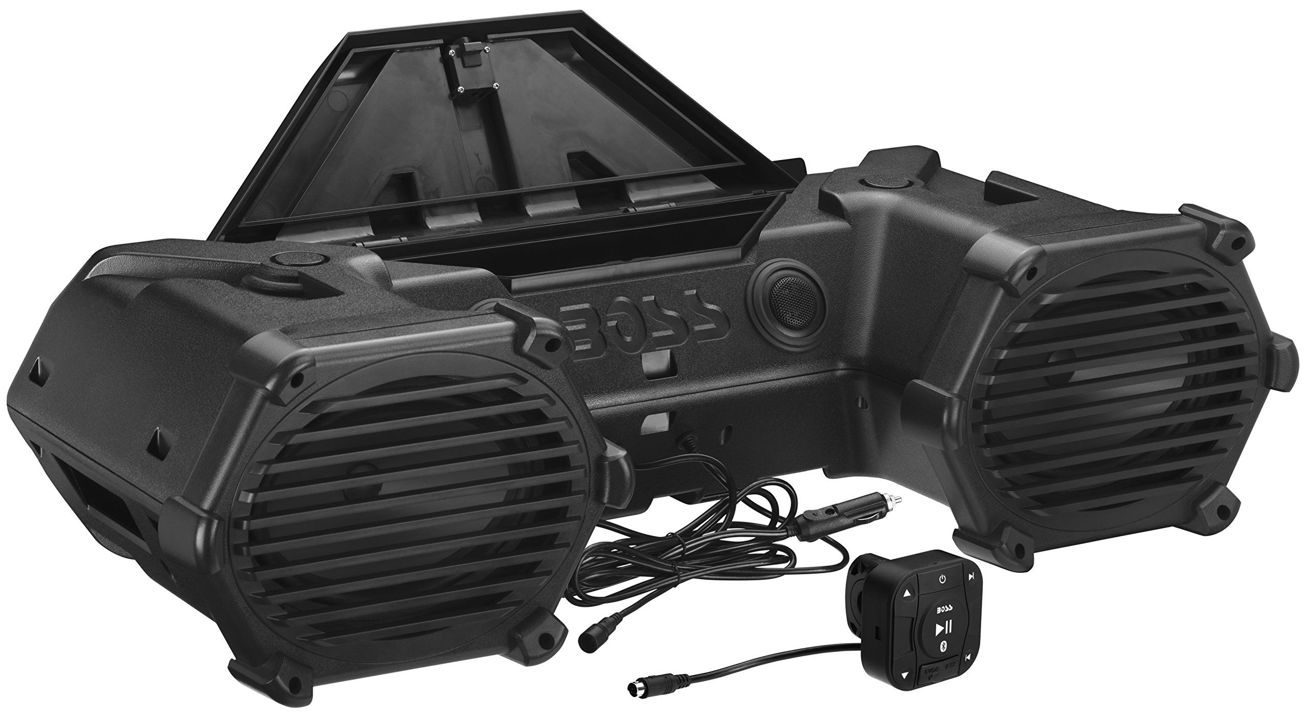 Boss Audio Atvb69 Bluetooth Amplified All Terrain Sound System Kia To Wiring Streaming Stream And Control Your Favorite Music Apps