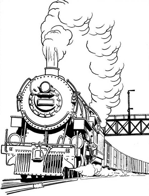 Long Smoke Of Steam Train Coloring Page Netart In 2020 Train Coloring Pages Coloring Pages Zoo Animal Coloring Pages