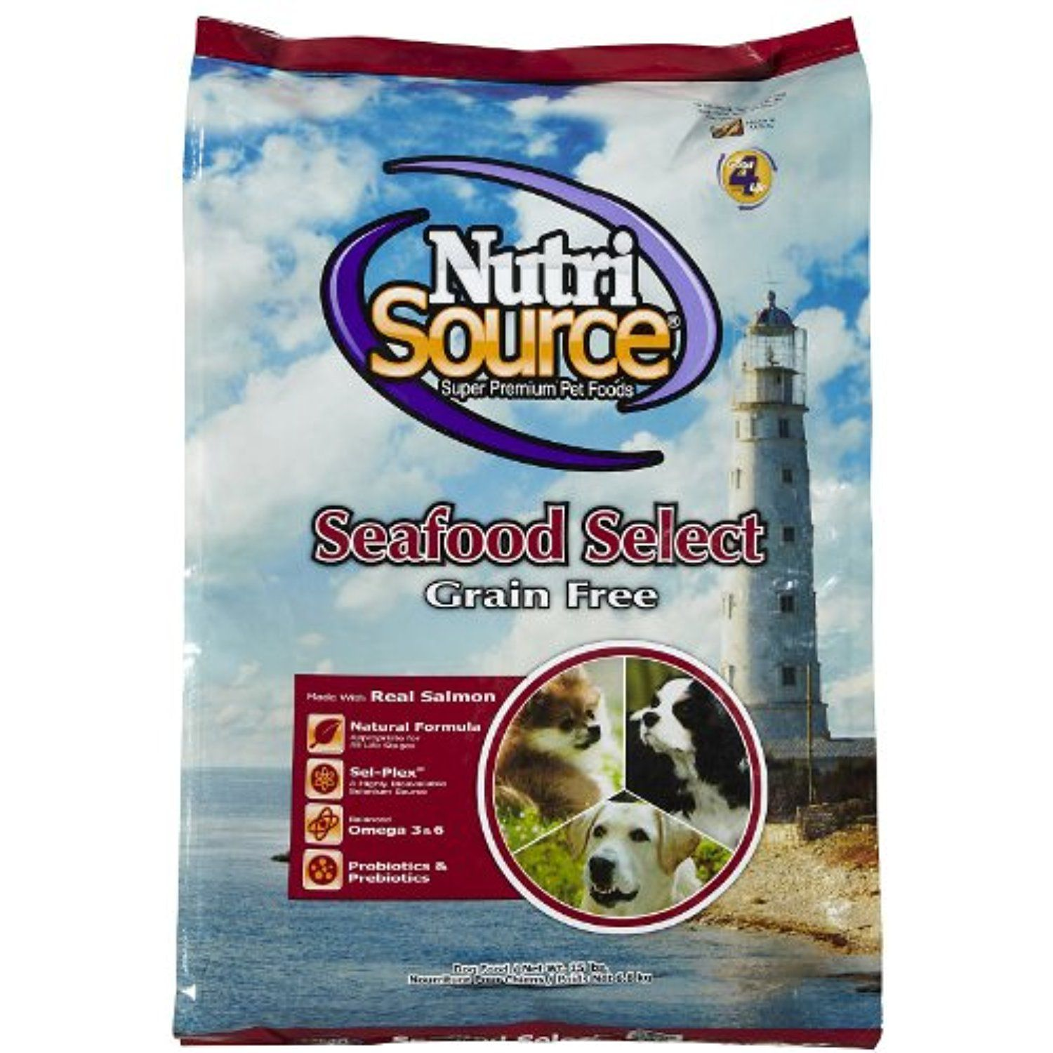 Tuffys Pet Foods Inc Nutri Source Grain Free Seafood Select Grain