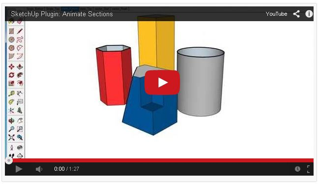 The animate sections plugin automates the functioning of the